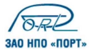 Порт ЗАО Научно-Производственное Объединение