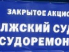 Волжский Судостроительно-Судоремонтный Завод ЗАО